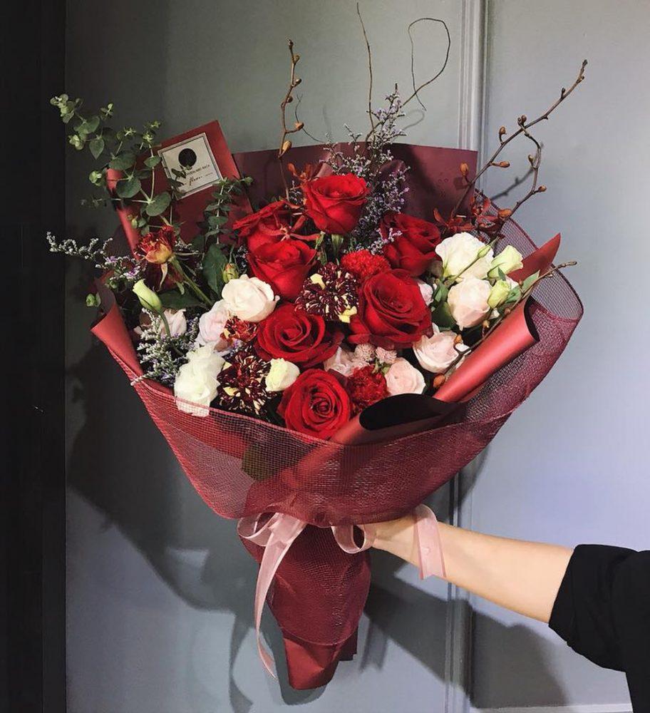 Ý nghĩa của bó hoa hồng nhập