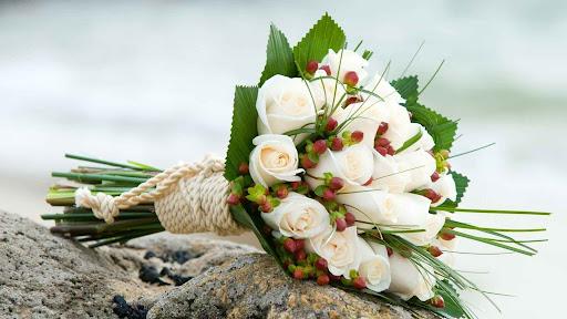 Nguyên liệu để bó hoa cưới theo khung đẹp