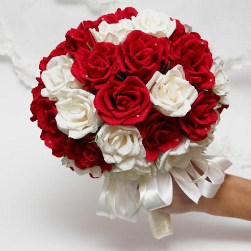 Cách bó hoa cưới cầm tay cô dâu bằng foam siêu dễ
