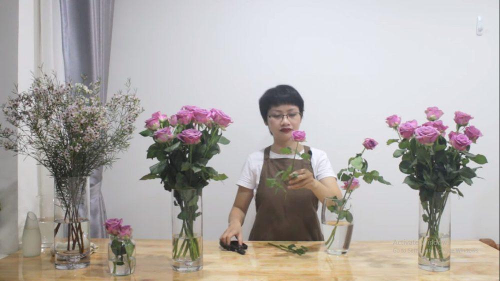 Cách cấp cứu cho hoa hồng tươi lâu hơn