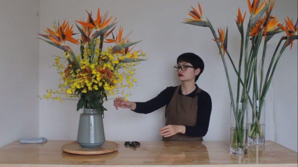 Kiểu cắm hoa thiên điểu có những ưu điểm gì?