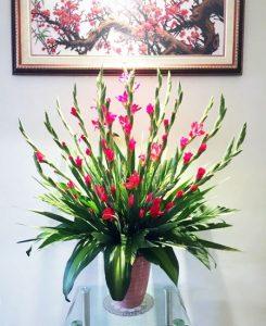 Bí kíp cắm hoa lay ơn chi tiết nhất